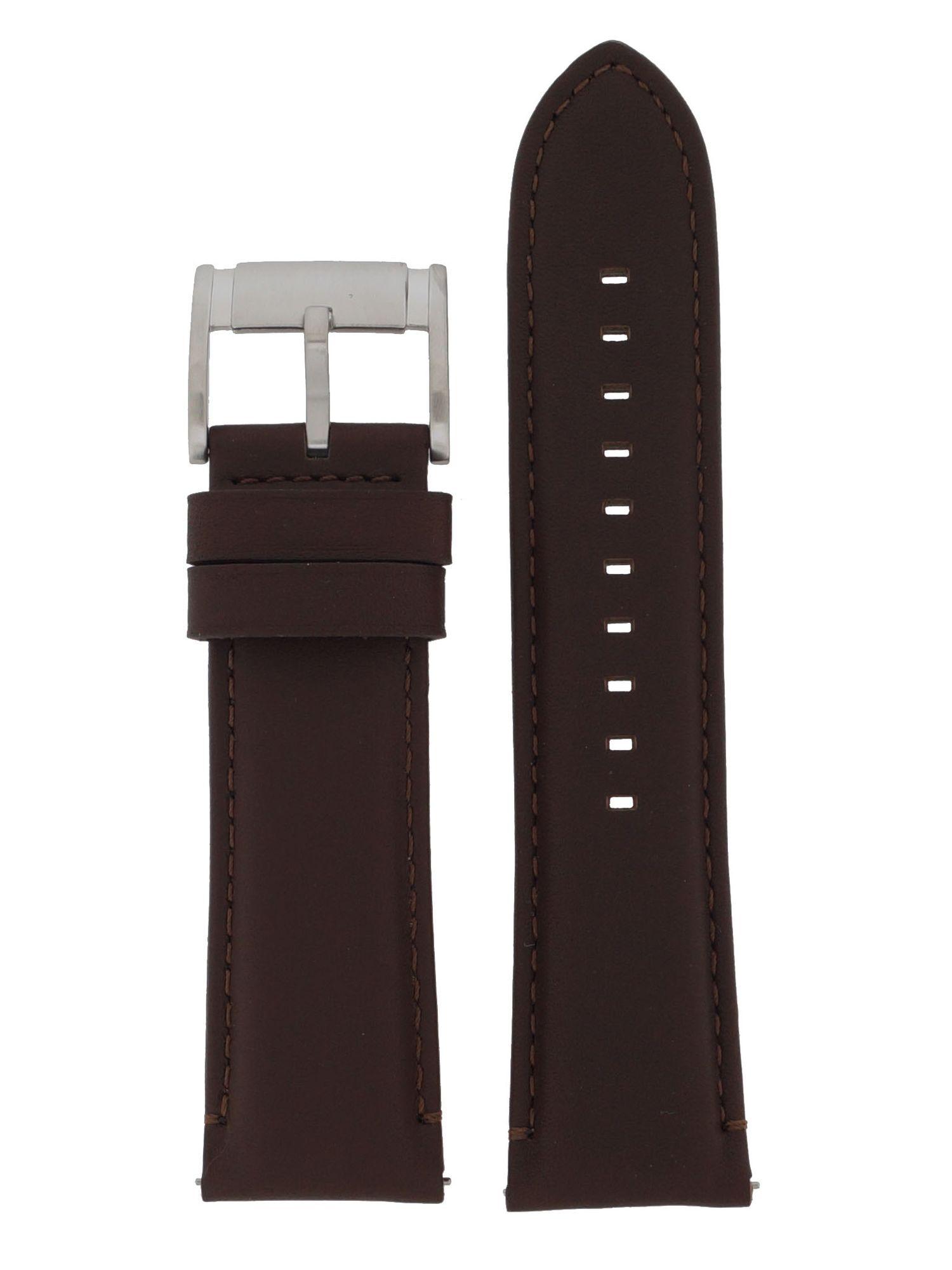Fossil Uhrenarmband LB-FS4865 Original Ersatzband Leder 24 mm Braun