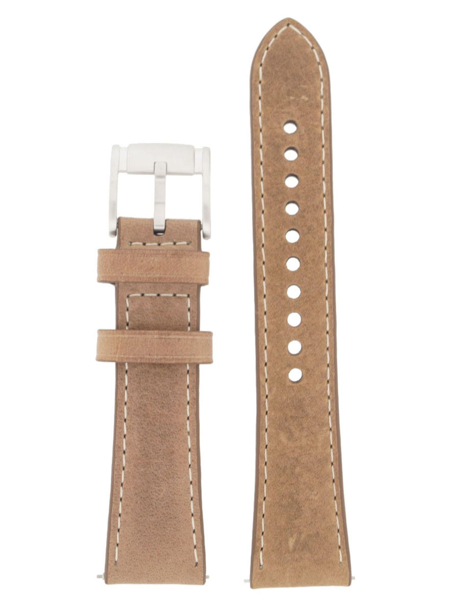 Fossil Uhrenarmband LB-CH2952 Original Ersatzband Leder 22 mm Braun