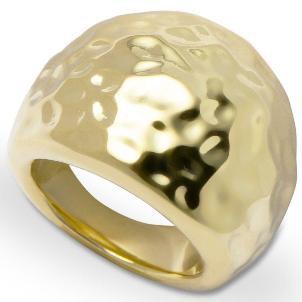 GOOIX 443-05733 Damen Ring Edelstahl 52 (16.6) gold