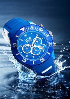 Ice-Watch ICE auqa Chrono Marine Unisex Chronograph Uhr Herrenuhr blau – Bild 2