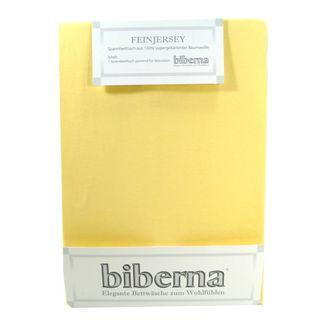 Biberna 77144-536-046 Feinjersey Spannbetttuch Hellgelb 60x120 70x140 Biberna 77144-536-046 Feinjersey Spannbetttuch Hellgelb 60x120 70x140