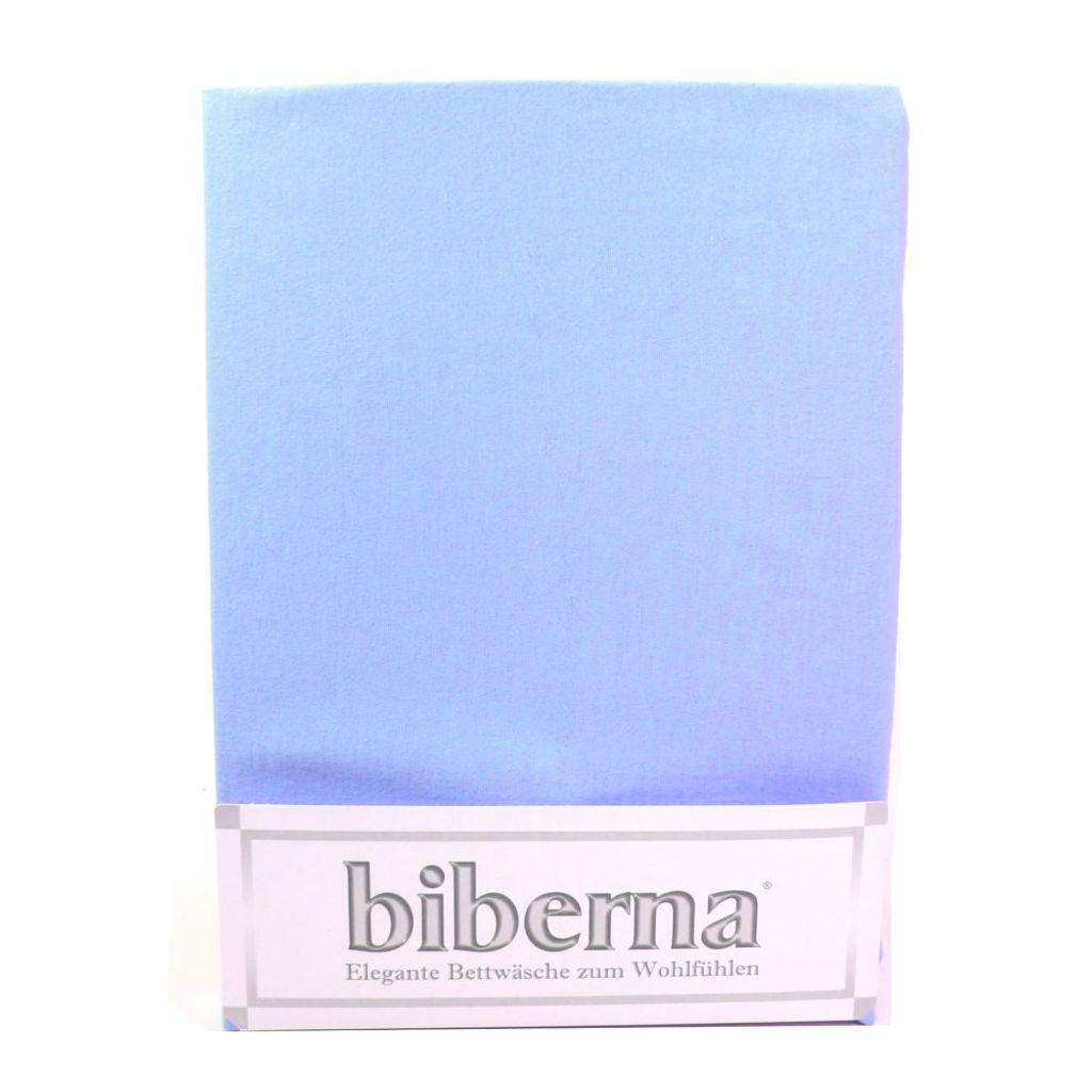 Biberna 02744-221-040 Feinbiber Spannbetttuch Eisblau 90x190 100x200 Biberna 02744-221-040 Feinbiber Spannbetttuch Eisblau 90x190 100x200