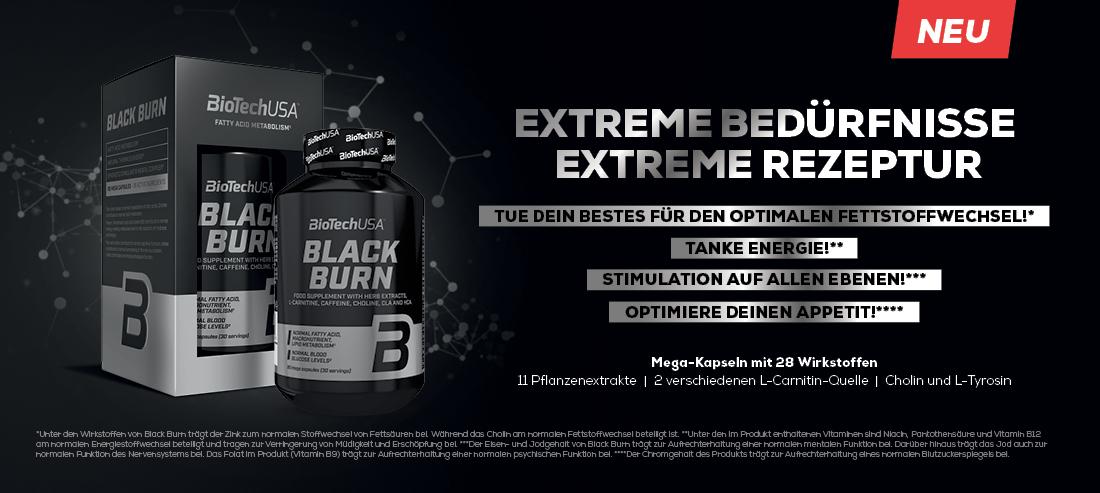 BioTech USA Black Burn 90Kapseln