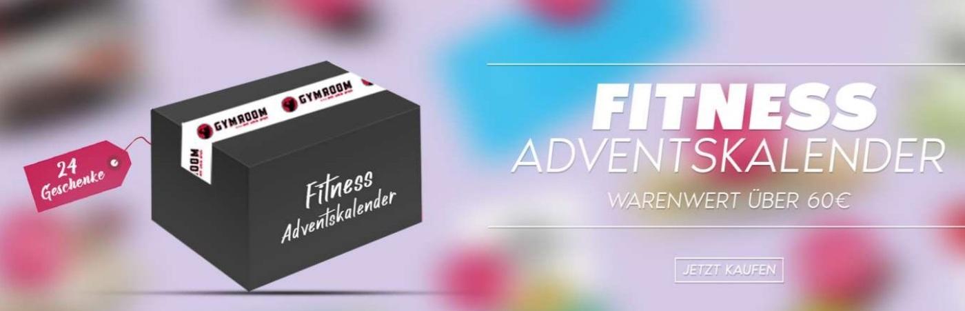 Fitness Adventskalender 2021 - Do It Yourself (24 Geschenke)