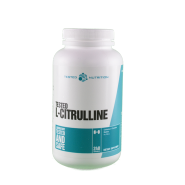 Tested Nutrition L-Citrulline 240 Kapseln