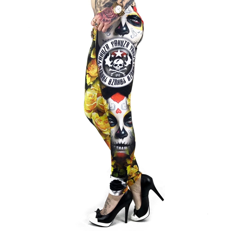 Mexican Rose Leggings