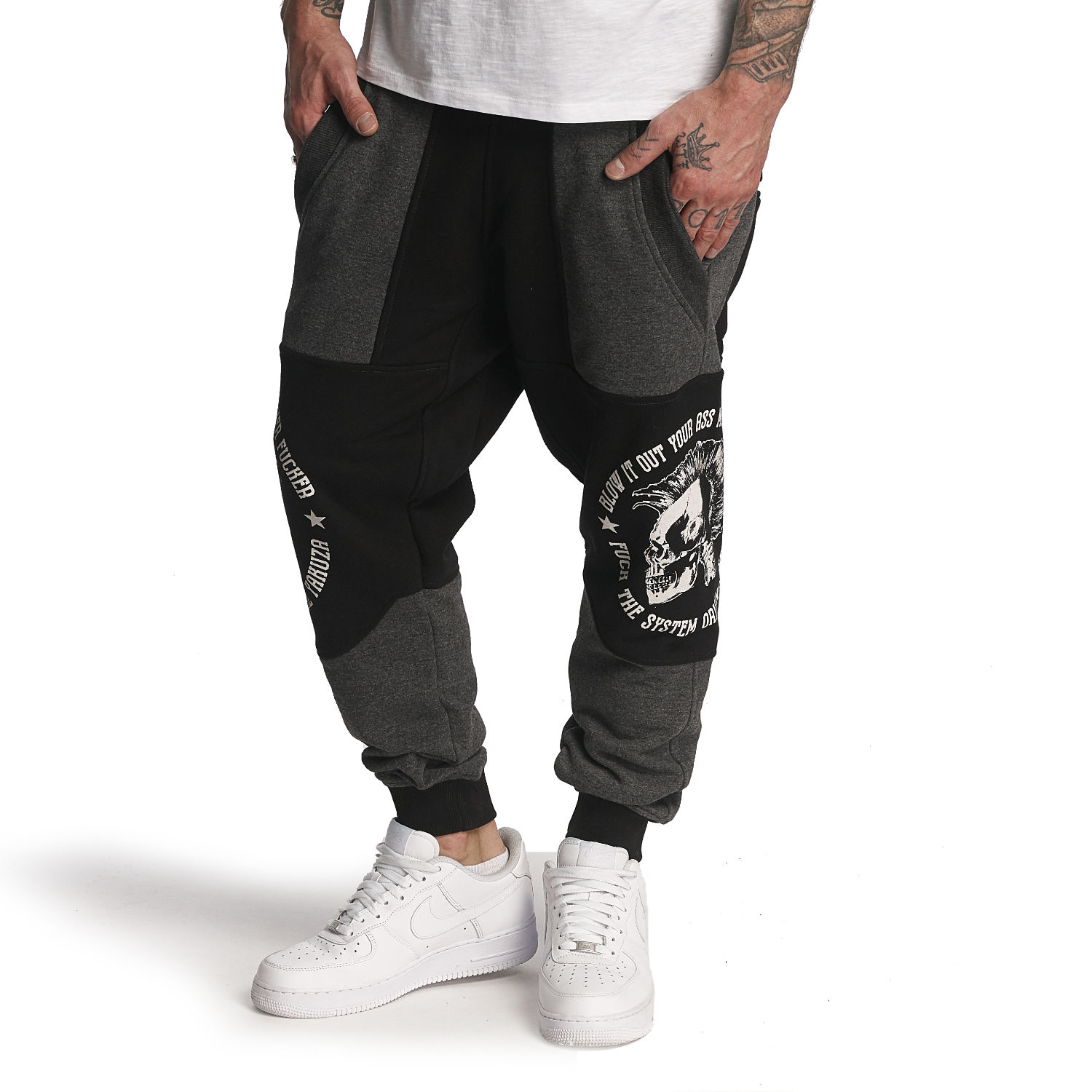 Punx Two Face Anti Fit Joggers
