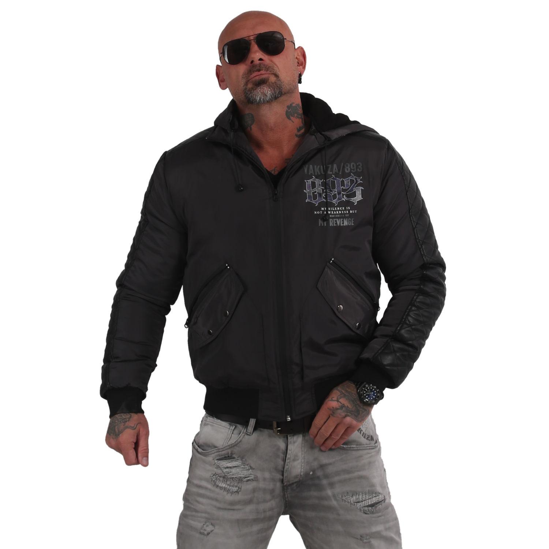 Yakuza, Skull Revenge Winter Jacket, WJB15050 DARSHA XL