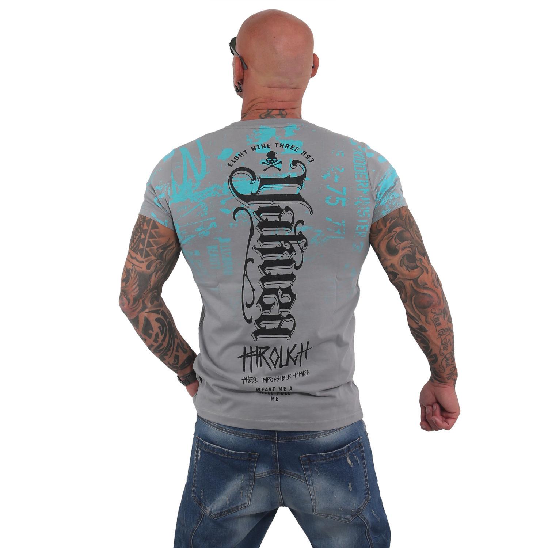 Yakuza, Through Times T-Shirt, TSB15017 MON XL