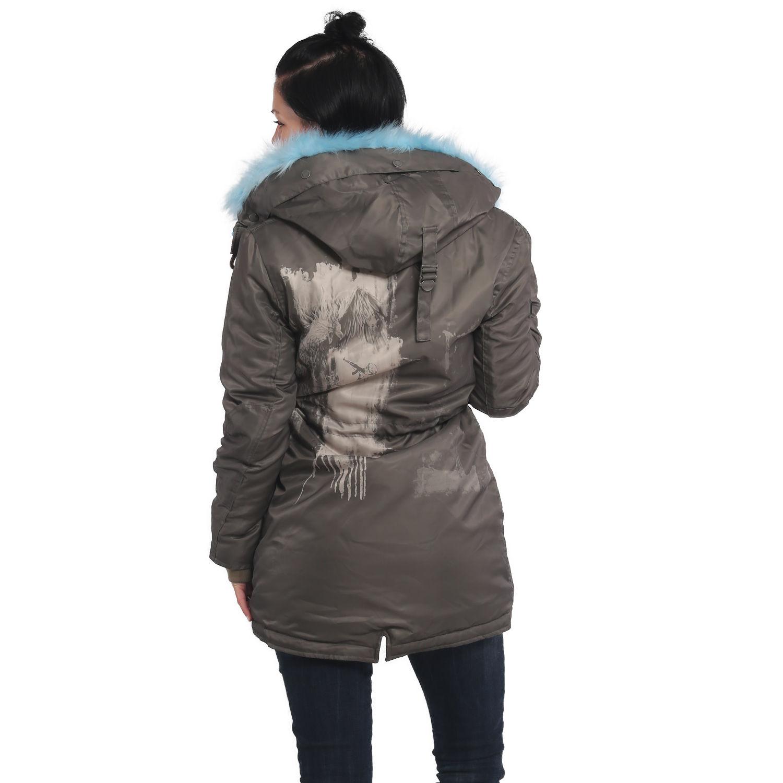 Phoenix Faux Fur Parka Jacket