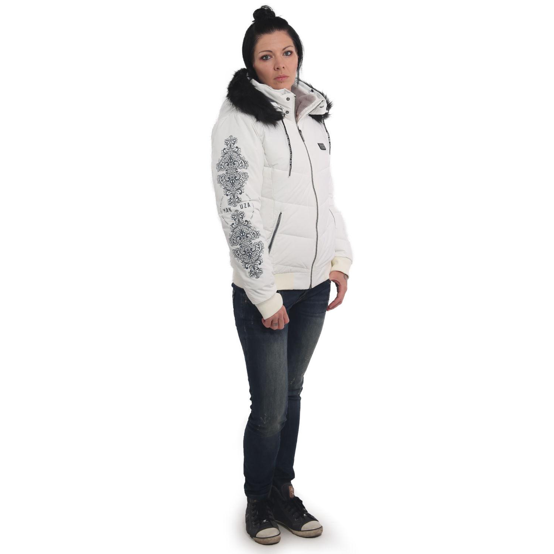 Ornamentic Winter Bomber Jacket