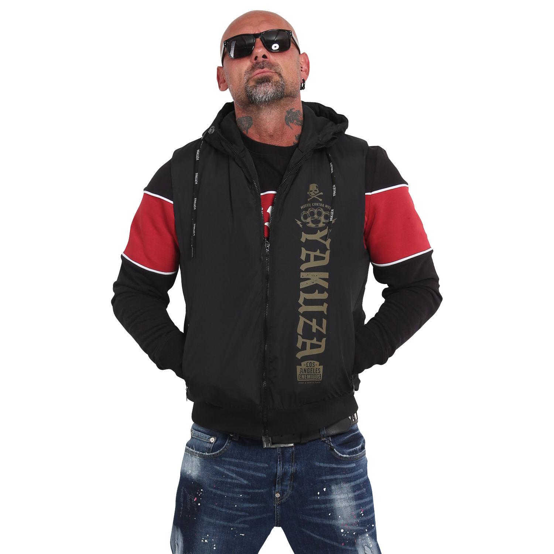 Yakuza, Muerte Hooded Vest, VB15015 BLK XL