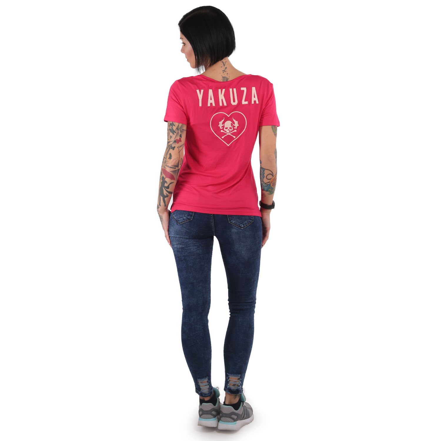 893Love EMB V Neck T-Shirt