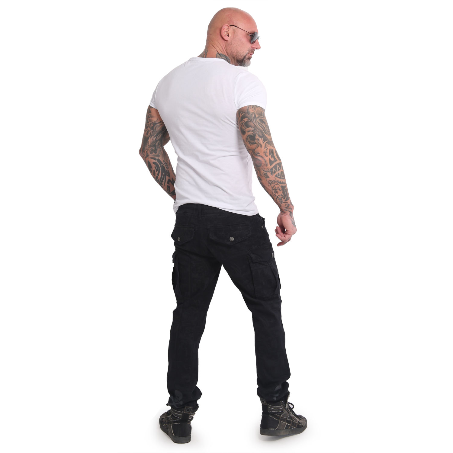 Allover Jogging Cargo Pants