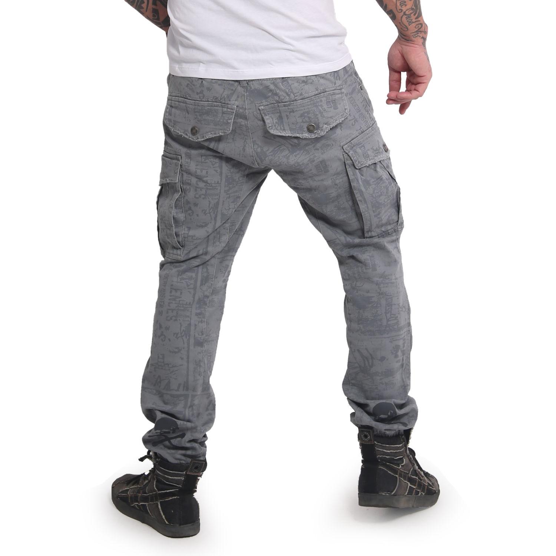 Allover Jogging Cargo Pants