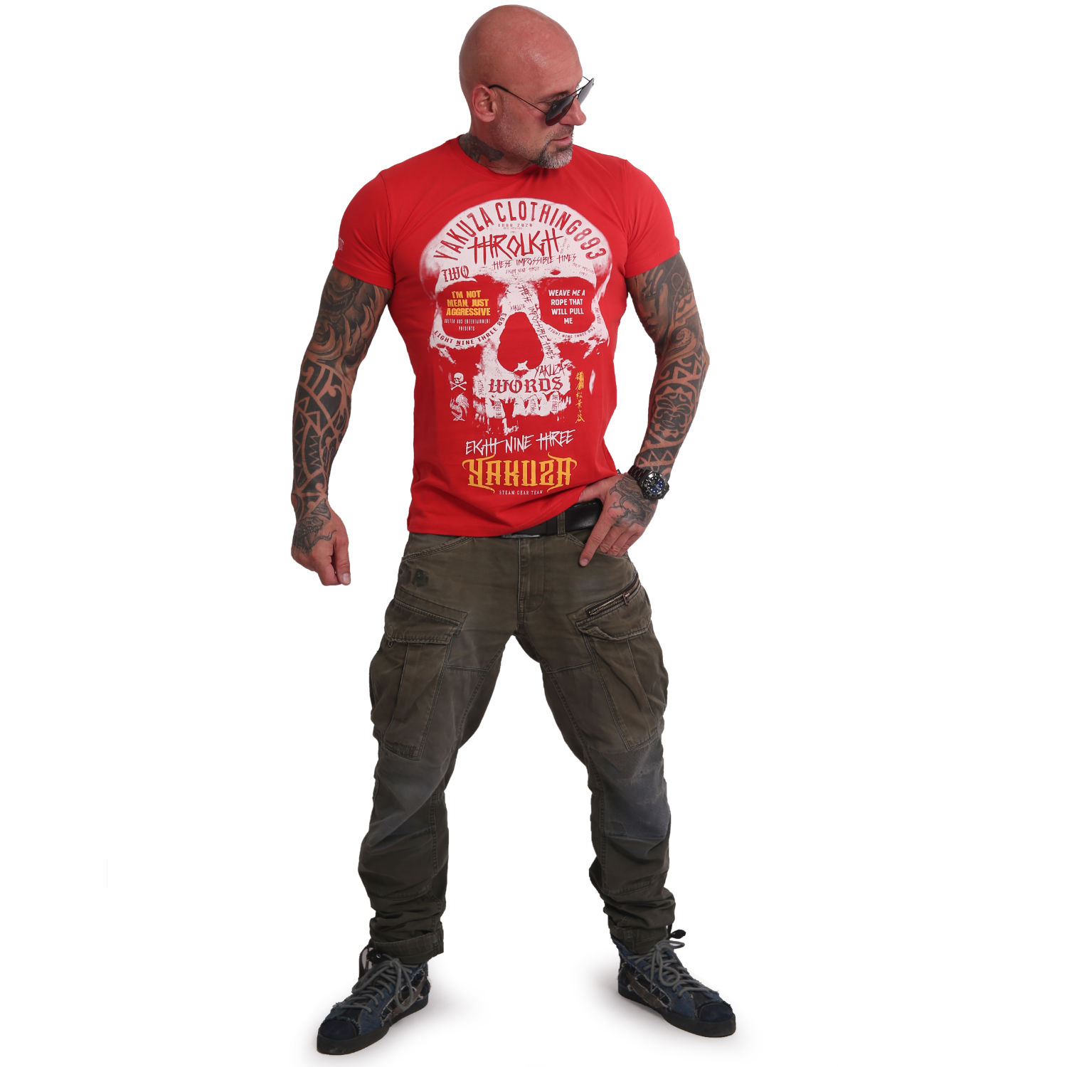 Through Skull T-Shirt