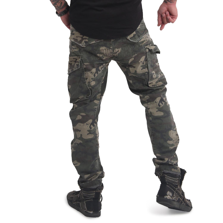 Yakuza, Old Firm Cargo Pants, CPB16046 CAM W38