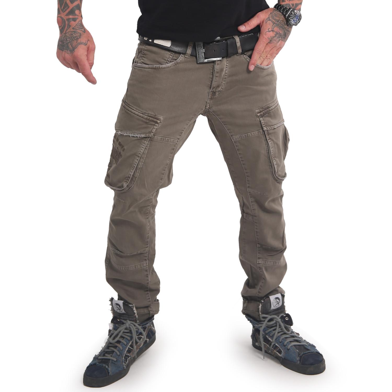 Yakuza, Old Firm Cargo Pants, CPB16046 GRALEA W40