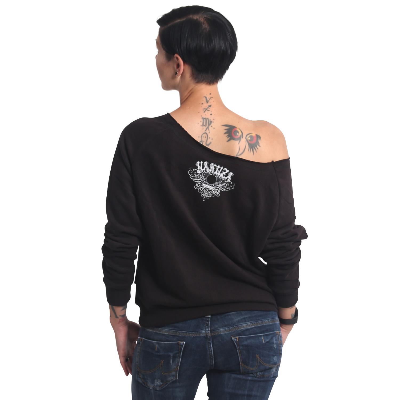 Panda Wide Crew Neck Sweatshirt