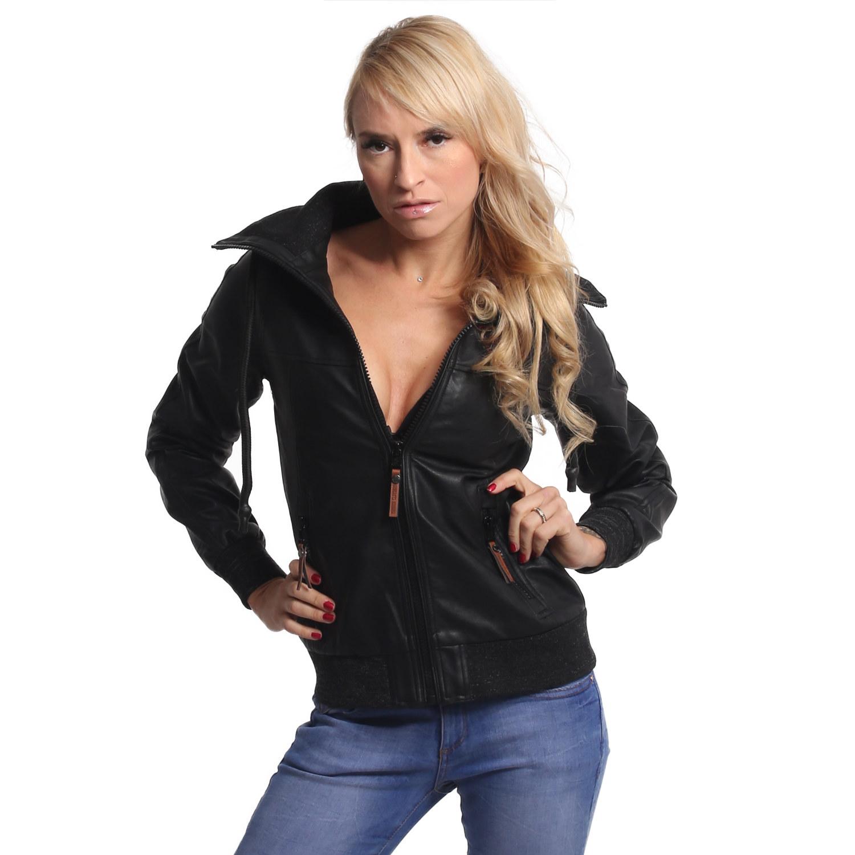 Fibre Faux Leather Jacket