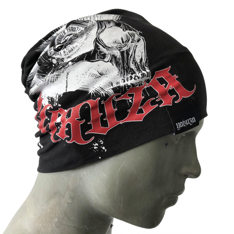 Yakuza, Dead Punk V02 Beanie, YB16301 BLK ONE