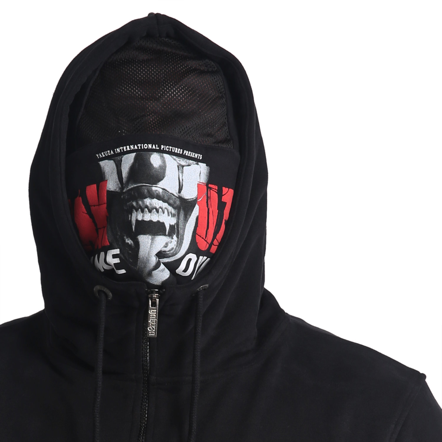 Yakuza, Game Over Ninja Zip Hoodie, HZB16087 BLK M