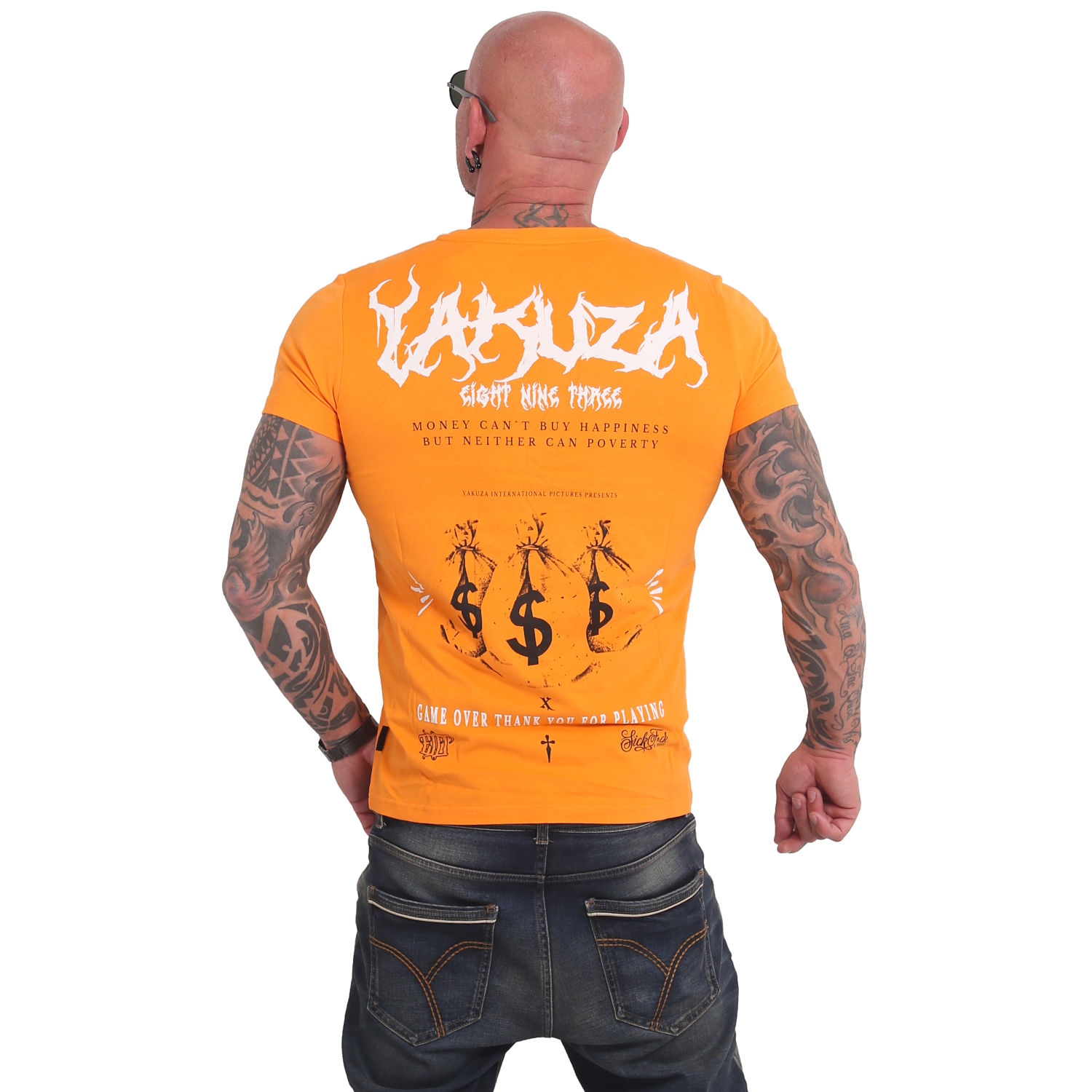 Yakuza, Buy Happiness T-Shirt, TSB17034 BRIMAR 3XL