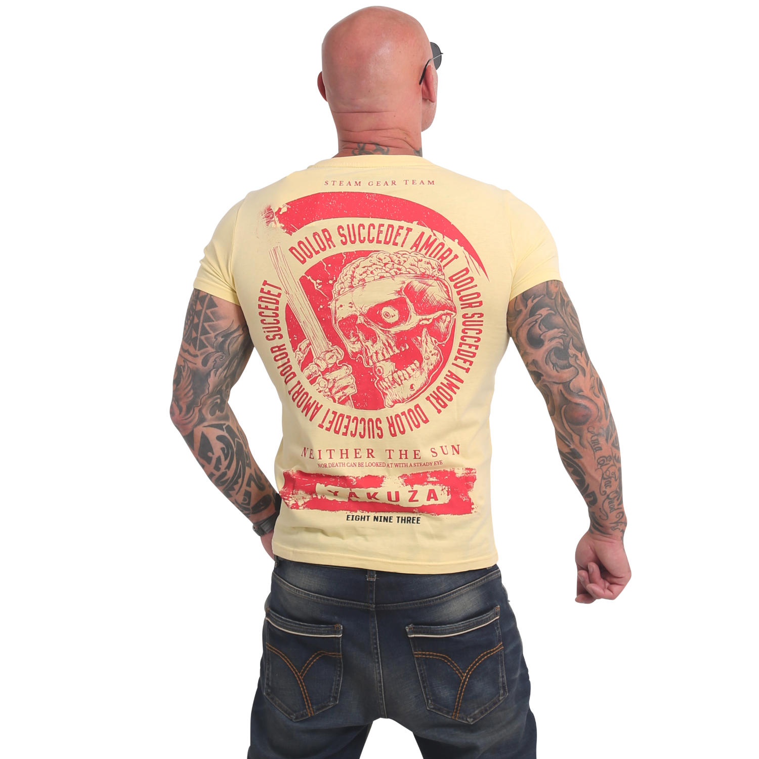 Yakuza, Neither The Sun T-Shirt, TSB17037 PALBAN 4XL