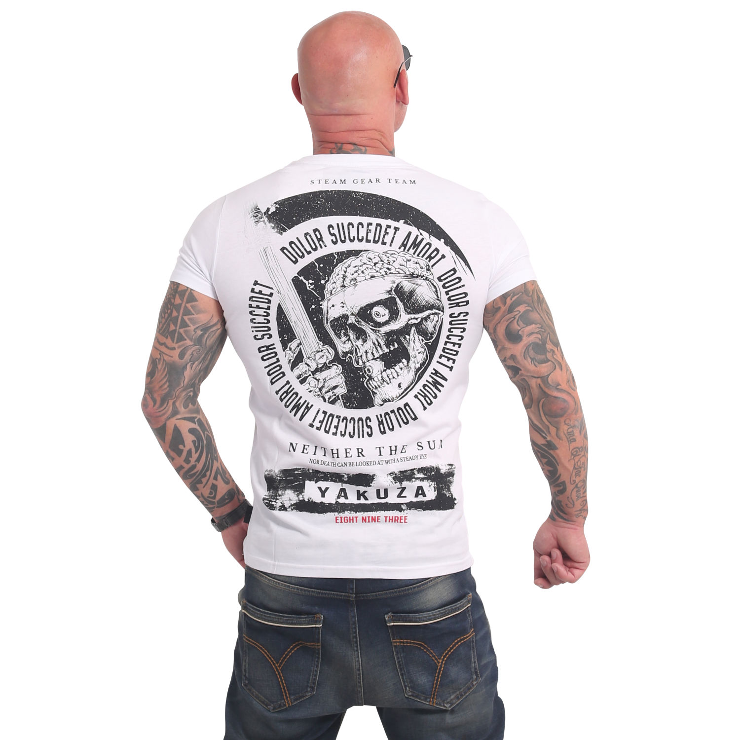 Yakuza, Neither The Sun T-Shirt, TSB17037 WHT M