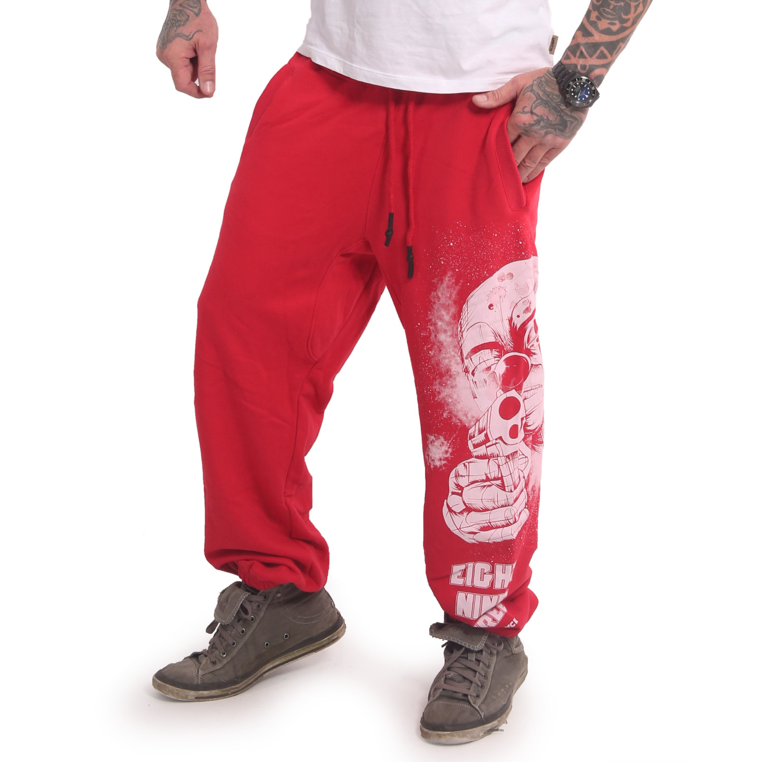Yakuza, Hating Clown Loose Jogger, JOB17049 RIBRED XL