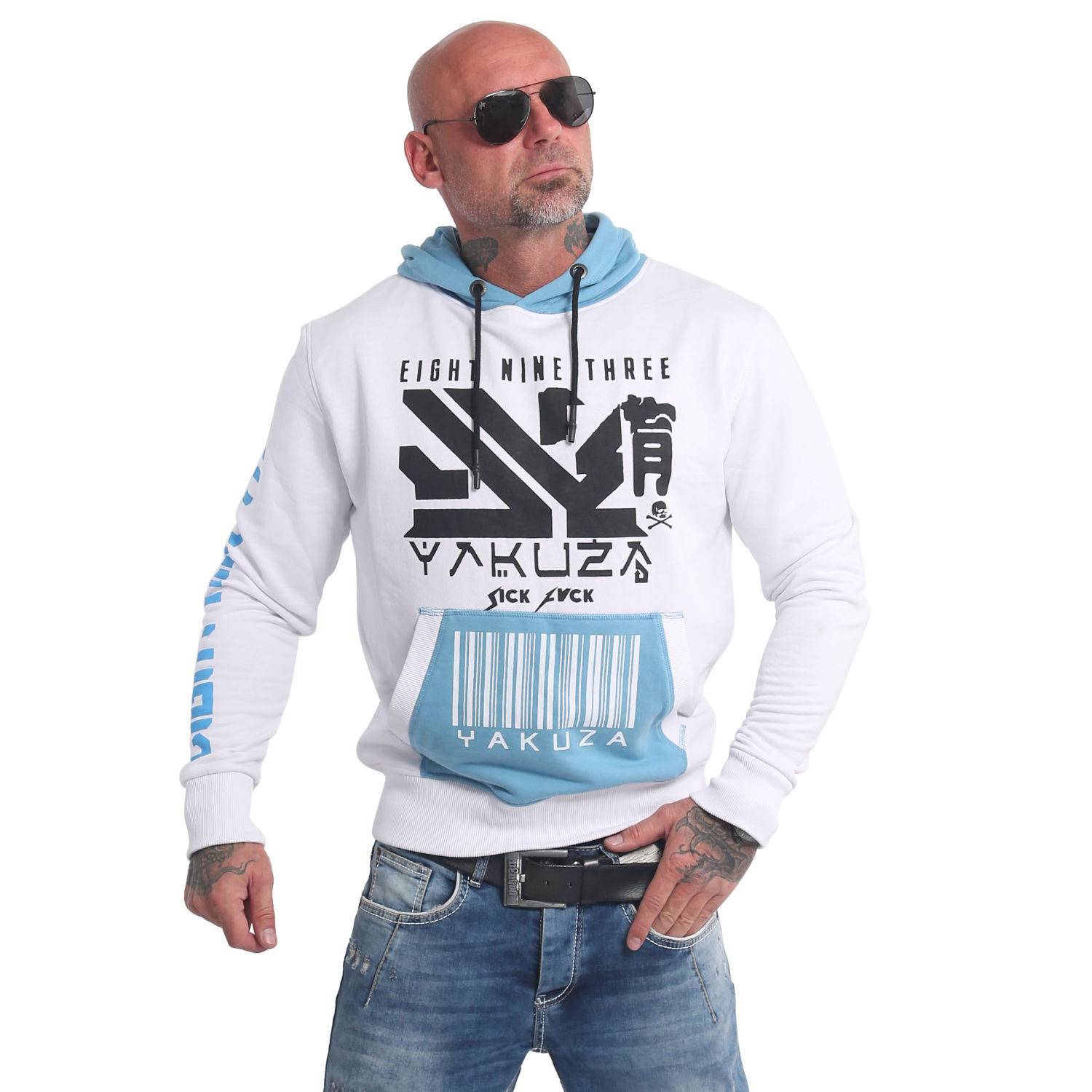 Nippon893 Two Face Hoodie