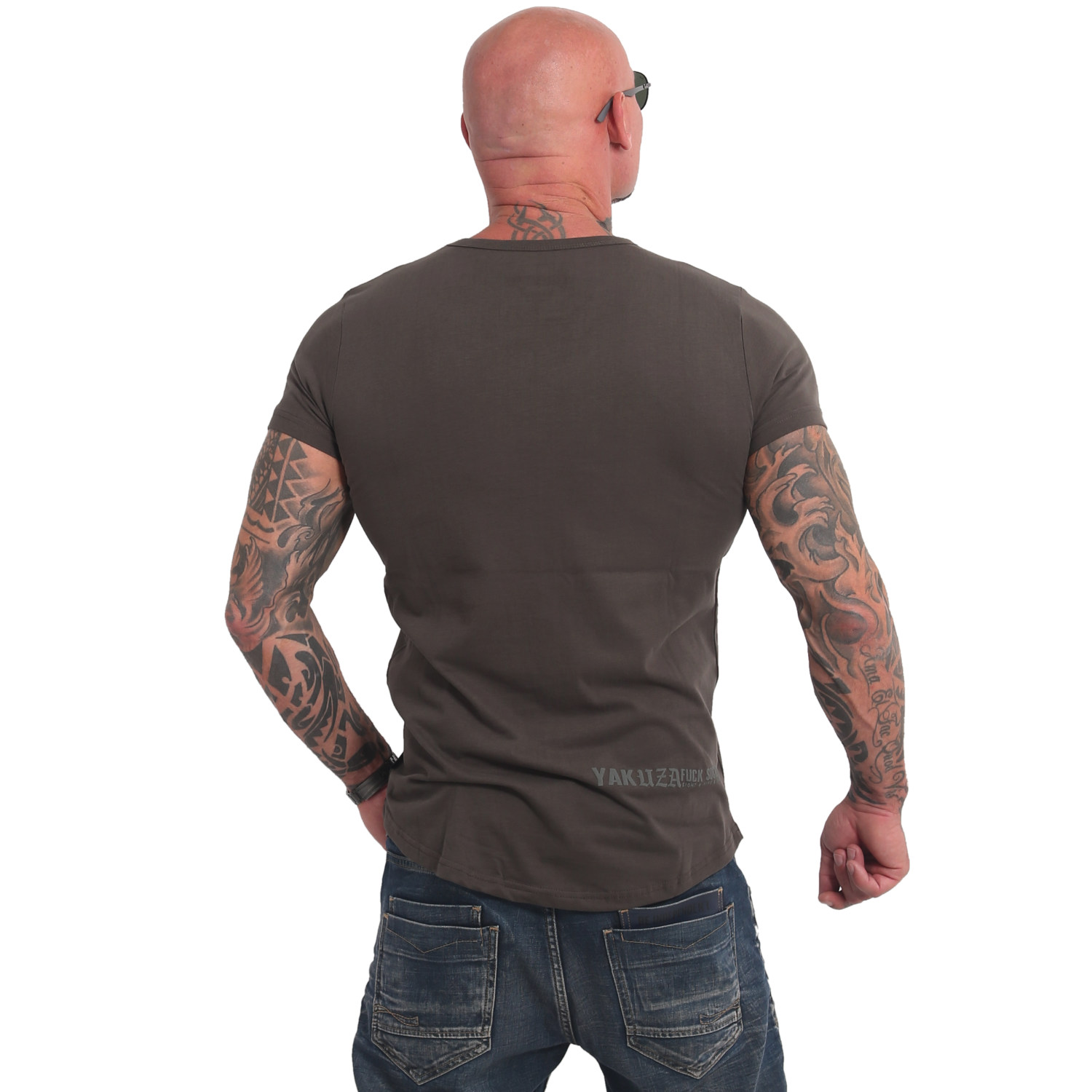 Basic Line FMP Long Tail V Neck T-Shirt Double Pack