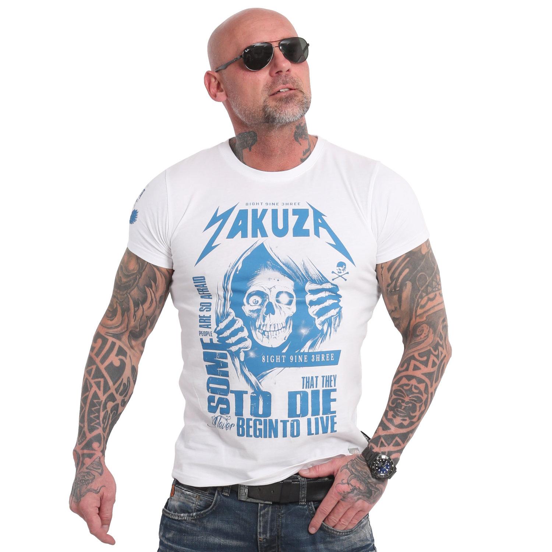 Yakuza, Afraid To Die T-Shirt, TSB18054 WHT XL