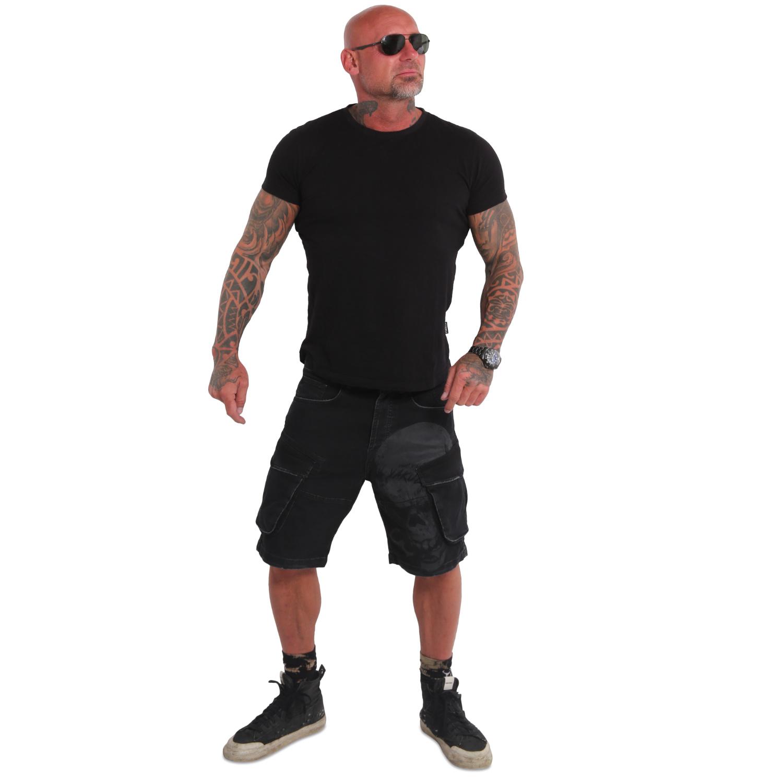 Knuckle Skull Cargo Shorts