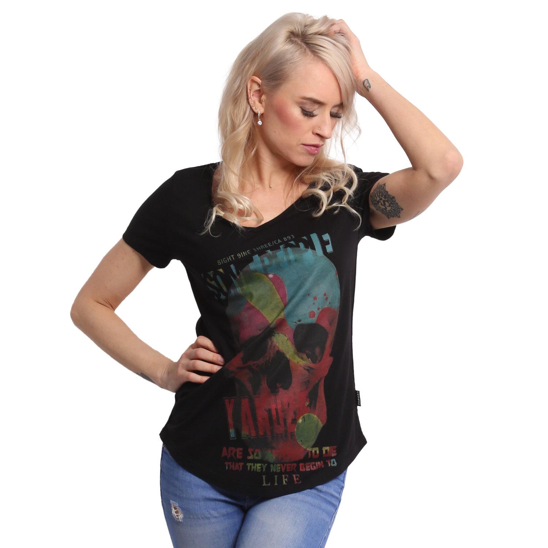 Some People Dye V Neck T-Shirt