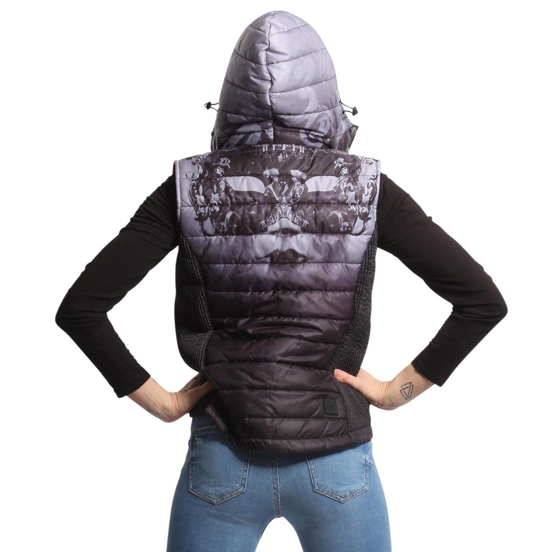 Masked Queen Hooded Vest