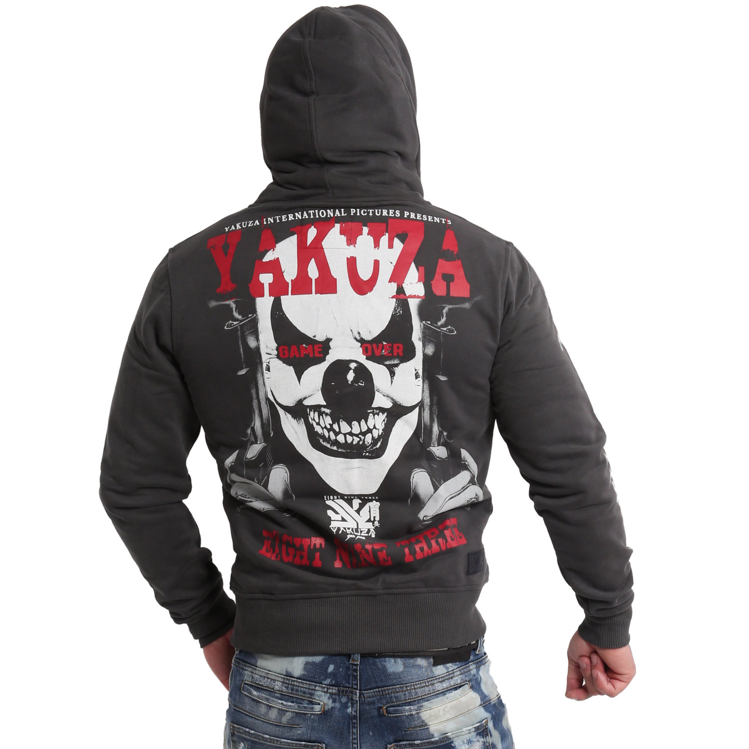 Duel The Clown Ninja Zip Hoodie