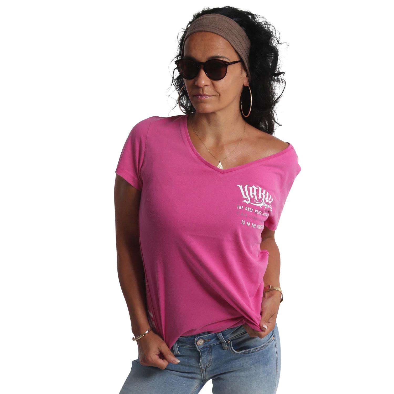Equality Dye V Neck T-Shirt
