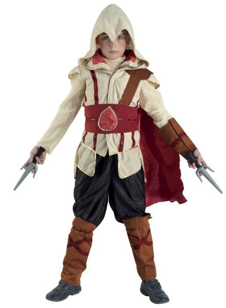 Detailreiches Kinderkostüm Assassin – wie Original Assassin