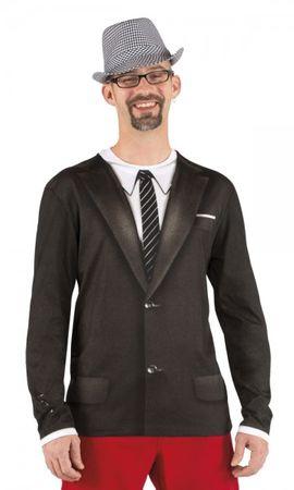 Fotoprint T-Shirt Anzug, Männer 3D Shirt Karneval Anzug