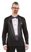 Motiv T-Shirt Frack – Männer Karneval Fotoprint Shirt