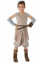 Kinder Kostüm Rey Star Wars Episode 7 - Mädchen Kostüm