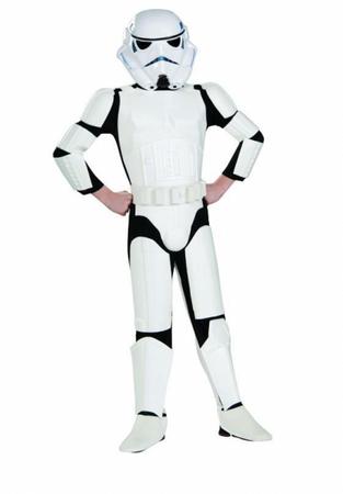 Stormtrooper Kostüm Deluxe Kinder – Star Wars Kostüm