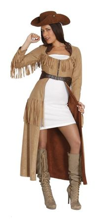 Wendekostüm Piratin Cowgirl, Kostüm: Western & Piratin