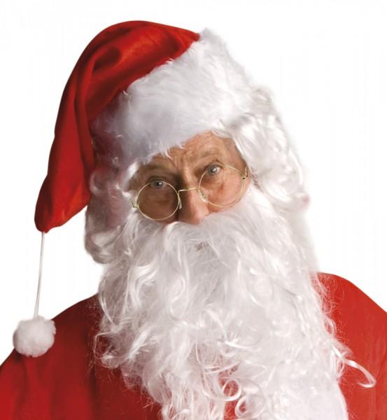 Weihnachtsmann Brille – goldene Brille für Nikolaus