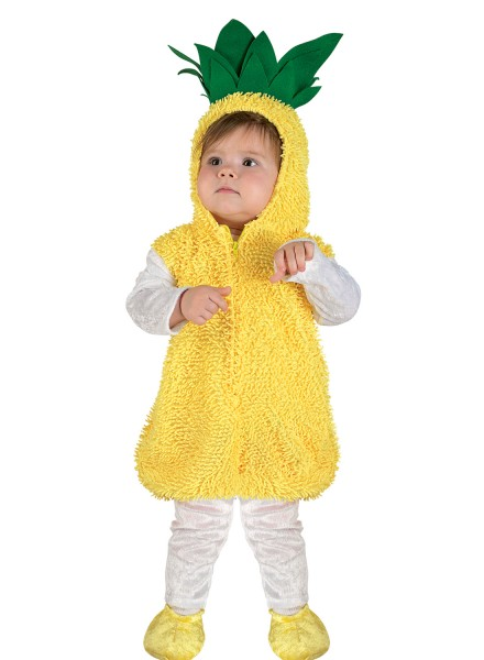 Babykostüm Ananas, Kleinkinderkostüm Ananas, Kindkostüm