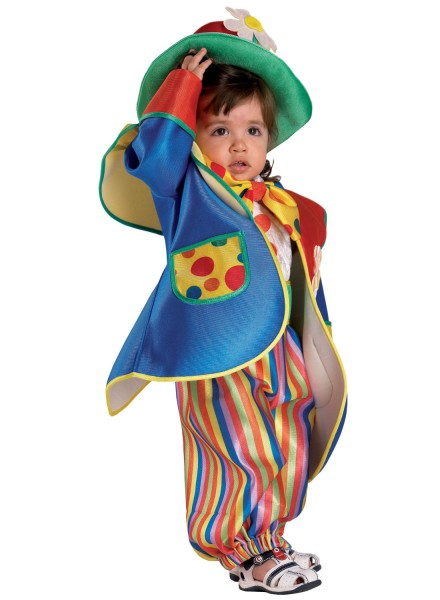 Babykostüm Clown, Kinderkostüm Clown, Clownskostüm Baby