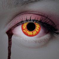 Farbige Manga & Anime Motivlinsen: rot & gelbe Flammen – Bild 4