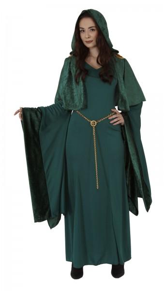 Mittelalter Kleid türkis, Kostüm Renaissance-Kleid