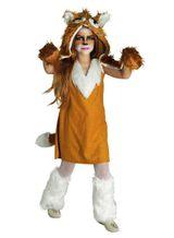 Kinderkostüm Fuchs, Tierkostüm für Mädchen, Fuchskostüm